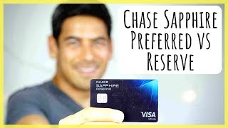 Deciding between the Chase Sapphire Reserve & Preferred Card | Why I Prefer the Sapphire Reserve