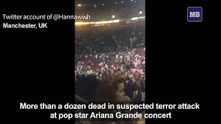 19 people killed in suspected terror attack in Manchester