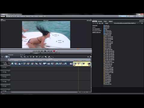 Как разделять сцены замедлять и ускорять видео в программе MAGIX Movie Edit Pro урок 2