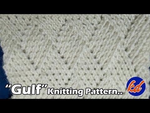 """""""GULF""""   Beautiful Knitting pattern Design 2018"""