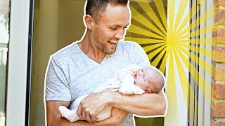 BABY'S FiRST TiME OUTSiDE!! 👶 **cute**