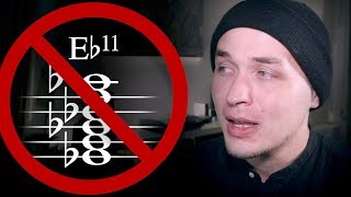 Please don't use Eb11 chords!   How to NOT suck at music #6