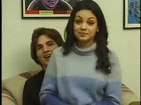 Aston Kutcher Mila Kunis - IN THE CREASE TV Promo for Ep. 4