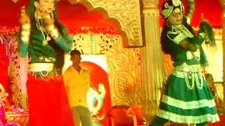 Durga Mata Mandir Ellenabad Bansi Baj Gi Radha Nache Gi     Nice Radha Krishna Bhajan