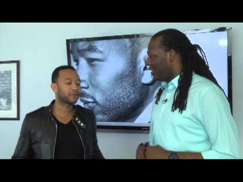 Kelson The Urban Informer Interview John Legend (part 1)