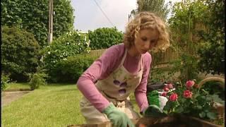 Un gars une fille - font du jardinage