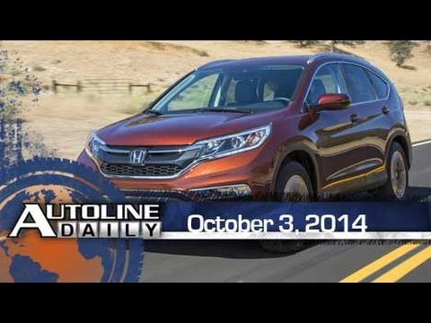 First Impressions: 2015 Honda CR-V, GM to Cut Platforms - Autoline Dai
