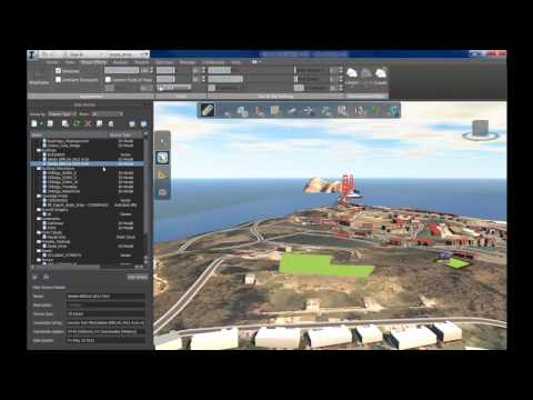 Autodesk Infraworks: Import Revit & Point Clouds