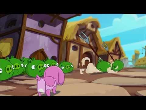 Злые птички Angry Birds Toons 2 сезон 11 серия Пёсзилла все серии подряд