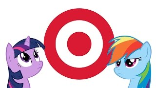 Rainbow Dash and Twilight Sparkle go to Super Target (Ponies IRL)