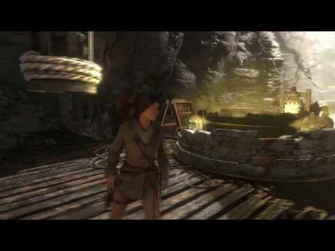 Лара Крофт и баба Яга. (Игрофильм по игре Rise of the Tomb Raider + The Temple of the Witch)