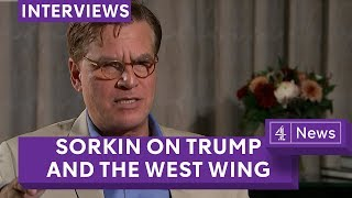 Aaron Sorkin on bringing back the West Wing, Trump and Molly's Game  (full interview)