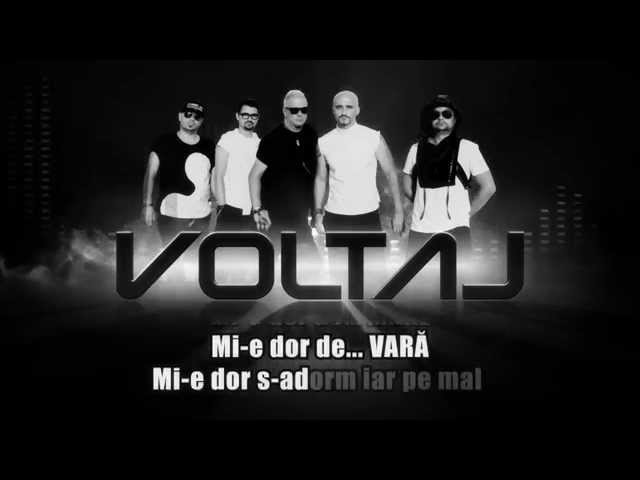Voltaj - Mi-e dor de (Karaoke)