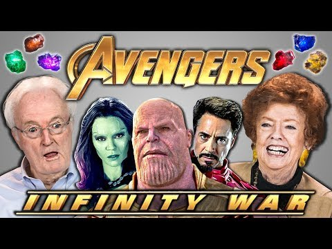 Elders React To Avengers Infinity War