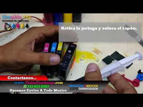 Purgar Cartuchos HP 904 Sistema De Tinta Continua Para HP 6970 6951