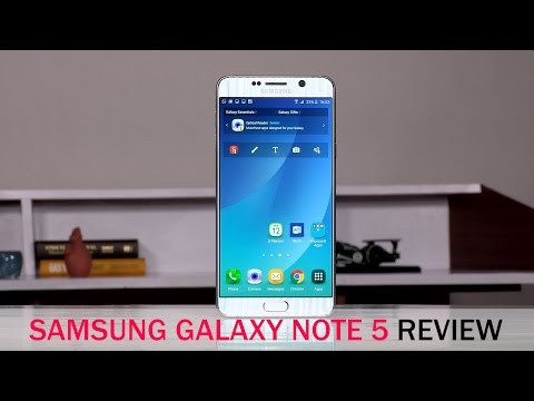 Samsung Galaxy Note 5 Review with Pros & Cons & Ratings