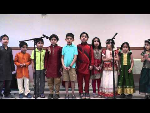 Bridgewater Malayalam Class Level 1 Kids : Poems  - Vishu Celebration 2014 video