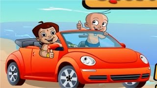 Chota  Bheem Racing Sports Car  /  Chhota Bheem Cartoon Games for Kids