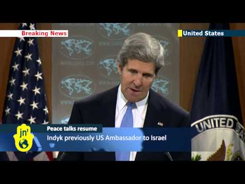 Mideast peace negotiations: Kerry announces former US Ambassador Martin Indyk to shepherd talks