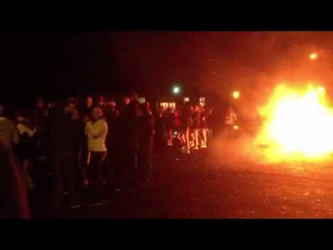 Ritzville High School bonfire 4