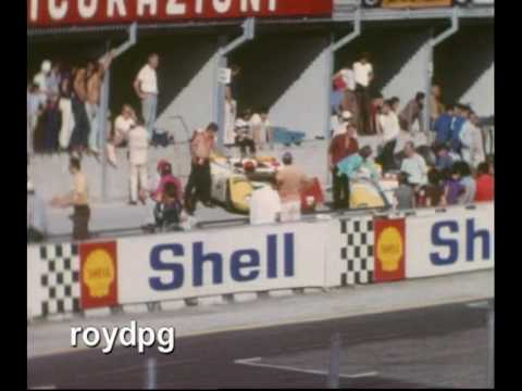 Part 3 of 4. Qualifying 500 Km of Imola, 13-9-1970. Filmed by Roy Pagliacci and Stefano Bassani. See the battle between Gulf Porsche 917 and Ferrari 512. The...