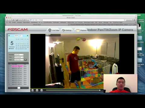 Foscam FI9826W HD IP Camera Demo & Review
