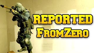 REPORTED FOR WALLING - FromZero CSGO Competitive
