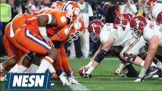 Alabama Vs. Clemson National Championship 2.0: Don