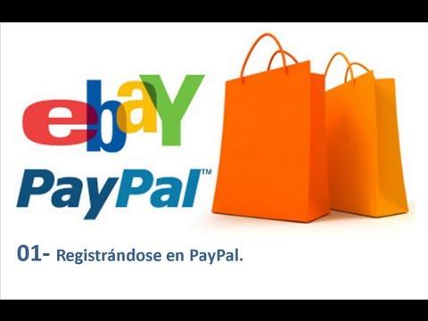 01 - Curso de eBay y PayPal - Registrándose en PayPal.