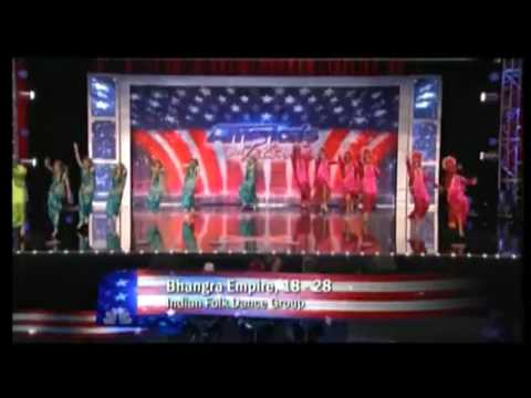 Bhangra Empire Auditioning On Americas Got Talent video