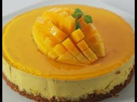 Baked Mango Cheesecake - Sanjeev Kapoor - Khana Khazana