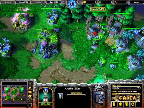 Moon (NE) vs Th000 (HU)  G1 - WarCraft 3 - WC467