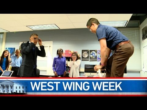 "West Wing Week: 05/10/13 or ""I Dare You to Do Better"""