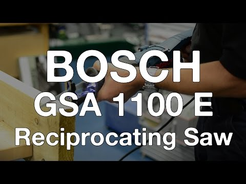 Bosch GSA 1100 E Reciprocating Saw - ITS TV