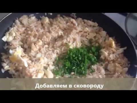 Кулинарный рецепт Второе блюдо Гарнир Рис с яицом по китайски