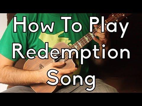 How To Play Bob Marley Redemption Song On Ukulele w/Tabs - Easy Ukulele, Ukulele Lesson