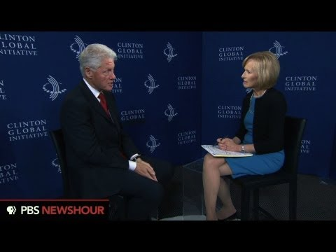 Extended Interview: Former President Bill Clinton