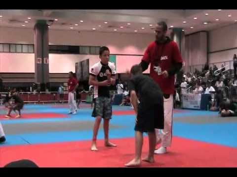 Jean-Paul LeBosnoyani Gracie World Kids 2011 - No Gi Final