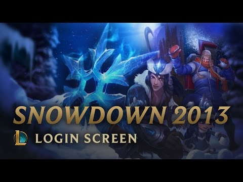 Snowdown Showdown 2013 - Login Screen