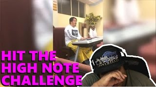 Hit The High Note Challenge [MUSIC REACTION]