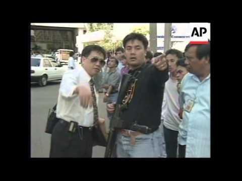 PHILIPPINES: MANILA: THREE GRENADE ATTACKS IN FINANCIAL DISTRICT