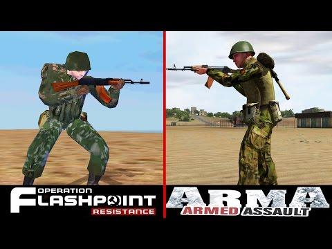 OFP vs ARMA: Armed assault