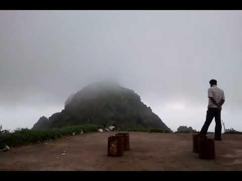 girnar mountain in monsoon