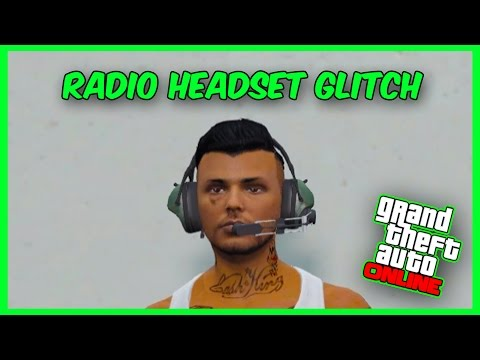 """GTA 5 Online Glitch - *NEW* How to Get Radio Headset """"Pilot Headset Glitch""""! (After Patch 1.33)"""