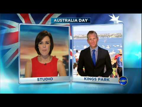 Australia Day 2013 | Ten News Perth | 26/01/2013