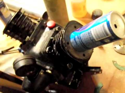DIY STIRLING ENGINE Update Air Compressor to Solar Stirling Engine