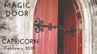 CAPRICORN: Magic Door February 2019