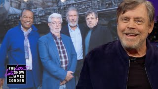 Mark Hamill Got Quite a Ride at Disneyland's Star Wars' Galaxy's Edge