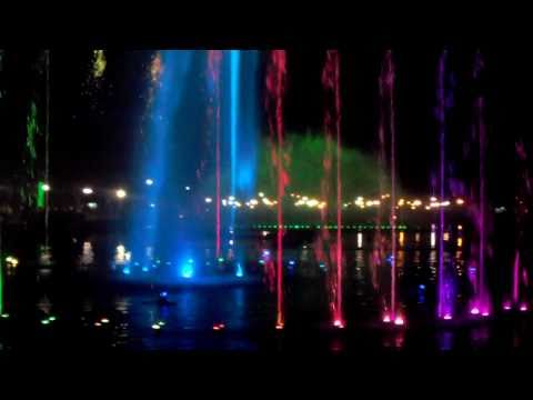 Luneta Park Dancing Fountain... ( Bad Romance, Lady Gaga )