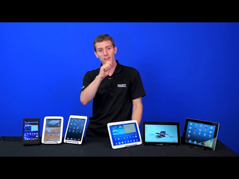 Tablet Buyers Guide 2013 - Back to School